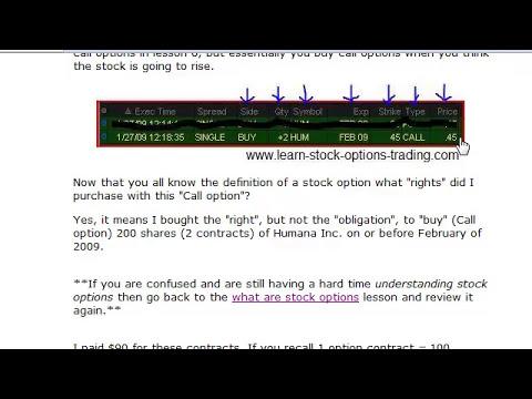 Understanding how stock options work