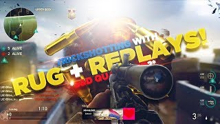 TRICKSHOTTING WITH FAZE RUG AND FAZE REPLAYS