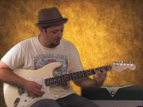 Blues Lead Guitar Lesson - Major Pentatonic - For That Sweet Sounding Blues