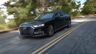 2019 Audi A8 Driving Video