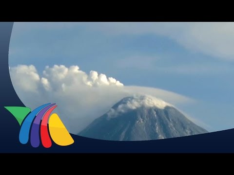 Volcán de Fuego sigue con intensa actividad | Noticias de Colima