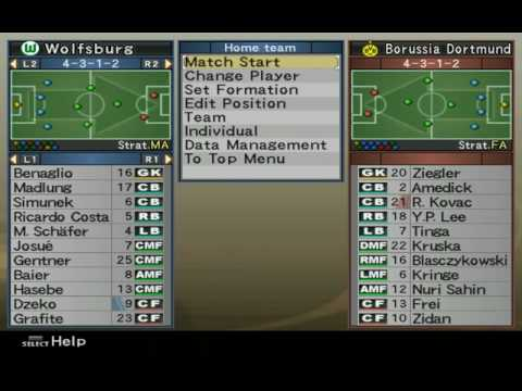 Pro Evolution Soccer 6 - Formation Settings Menu Music