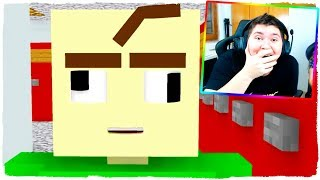 BALDI BECOMES CRAZY IN MINECRAFT! - MONSTERS SCHOOL ANIMATION (VIDEO REACTION)