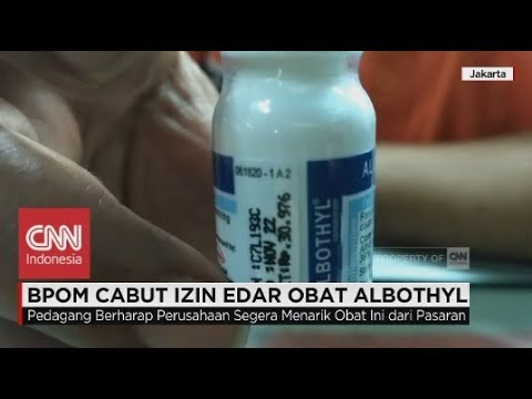 BPOM Cabut Izin Edar Obat Albothyl, Obat Sariawan MP3