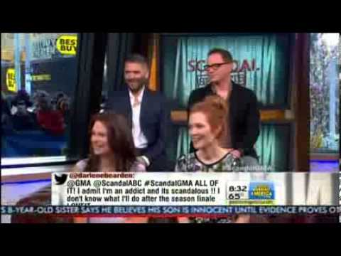 Scandal Cast on Good Morning America (May 14th, 2013)