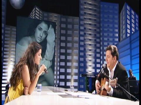 """Inma Cuesta canta """"Contigo"""" con Joaquín Petit a la guitarra"""