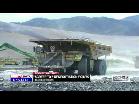 US Mining Firm Newmont Agrees to Contract Renegotiation With Indonesia
