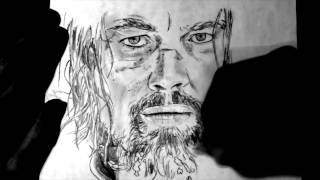 SPEED DRAWING #15 - The Revenant : Léonardo Dicapprio