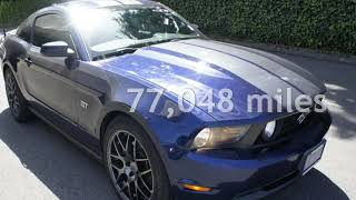 2010 Ford Mustang GT Premium for sale in LYNNWOOD, WA