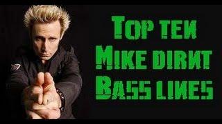 Top Fifteen Mike Dirnt Bass Lines (1992-2012)