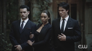 The Vampire Diaries: S8 - Behind The Scenes (Photo Shoot) - Music Video [HD]