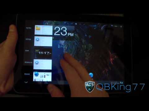 Review of the Galaxy Task Rom on the Samsung Galaxy Tab 10.1