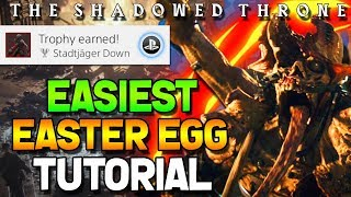 WW2 ZOMBIES - THE SHADOWED THRONE EASTER EGG GUIDE TUTORIAL/WALKTHROUGH! (Call of Duty WW2 Zombies)