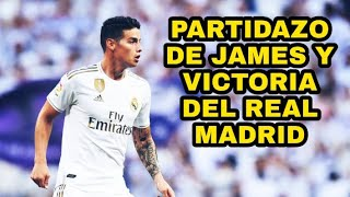 Real Madrid 3-2 Levante James Rodriguez Asistencia y PARTIDAZO del Colombiano!