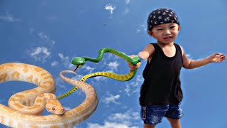 Sizo Baby Snatcher Game  Baby caught snake