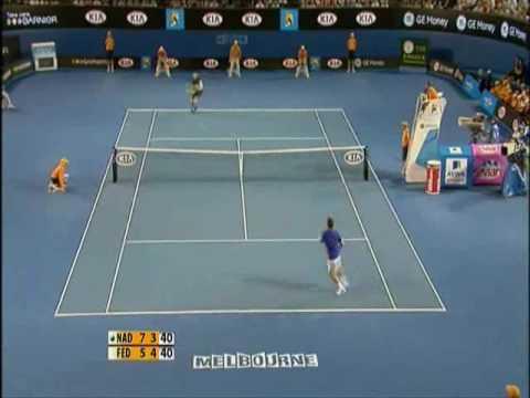 Roger Federer vs Rafael Nadal Australian Open 2009 (Highlights)