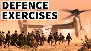 Defence exercises of India with other countries - Current affairs / Static GK