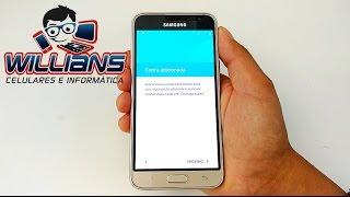 Resetar o Samsung Galaxy J3 2016 SM-J320, J320M para as configurações de fábrica hard reset