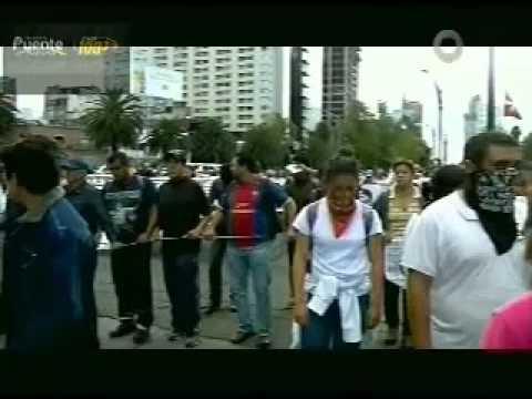 Israel Vàzquez diario Vèrtice de Chilpancingo, Gro / Manifes