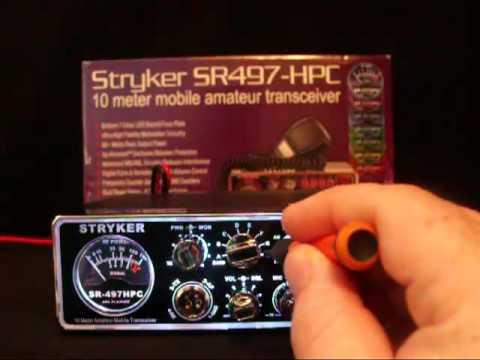 STRYKER CB 497 HPC 10 METER AMATUER RADIO $299.95 at BigMouth CB