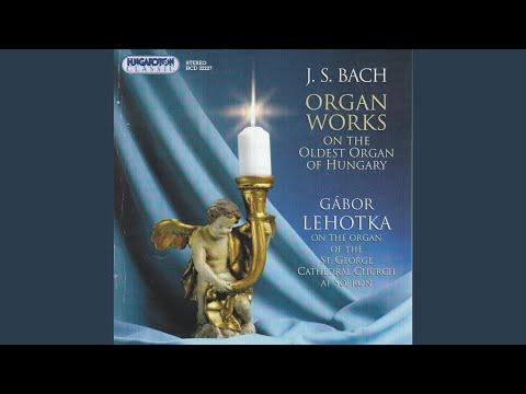 Prelude and Fugue in f minor, BWV 534 Prelude