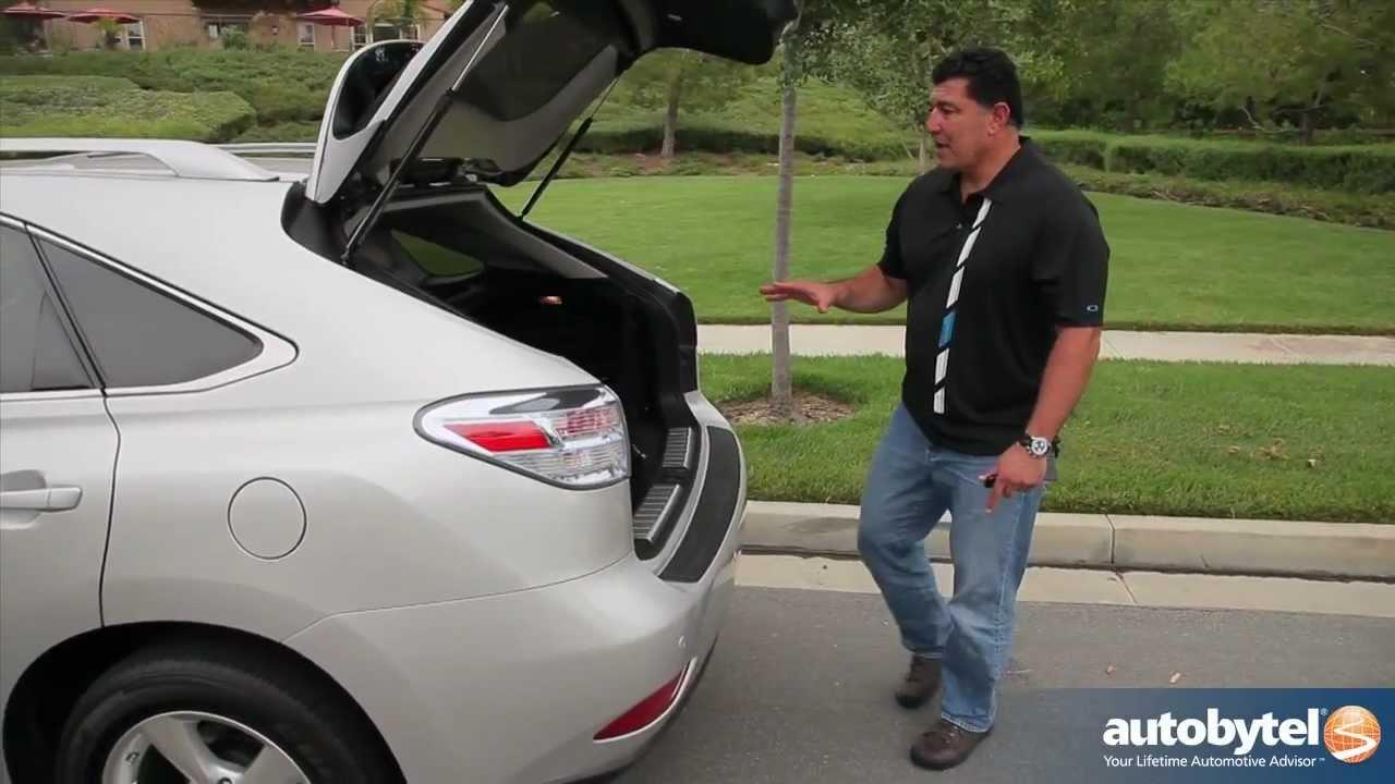 2012 Lexus RX 450h Hybrid Test Drive & Luxury Crossover ...