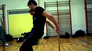 SYSTEMA RYABKO exercises with a stick