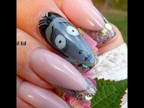 DIY - GEL Nail Decals -----MAKE THEM-----Using Gel Polish ---( Victor )