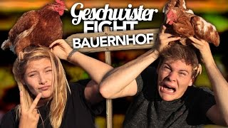 GESCHWISTER FIGHT - Bauernhof Edition | Joey's Jungle