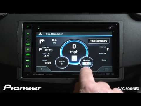 How To - AVIC-5000NEX - Navigate To An Address