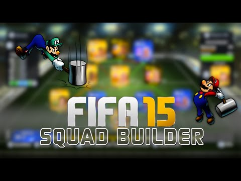 FIFA 15 Ultimate Team : Squad Builder - 15 MILLION COINS HYBRID ft. 4x TOTY