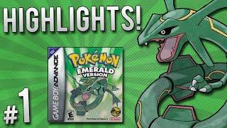 Pokemon Emerald Randomizer Nuzlocke - Highlights   PART 1