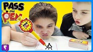 Pass the Pen Game! Plus, Jello Challenge with HobbyKidsTV
