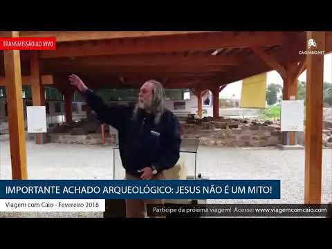 Importante achado arqueológico: Jesus não é um mito! (Caio Fábio ao vivo de Israel)