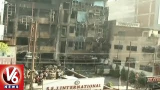 UP Police Files FIR in Charbagh Hotel Fire Accident | 6 Dead After Fire Breaks Out