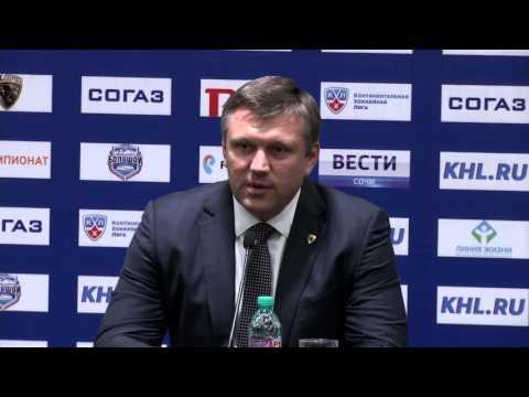 «СОЧИ» — «Динамо» Мск. Пресс-конференция тренеров