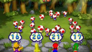 Mario Party 2 Netplay minigame: Roll Call