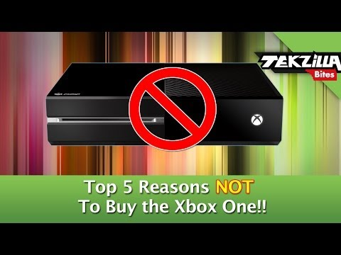 Top 5 Reasons Not To Buy Xbox One