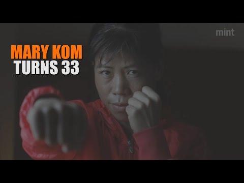 Mary Kom turns 33. Watch video...