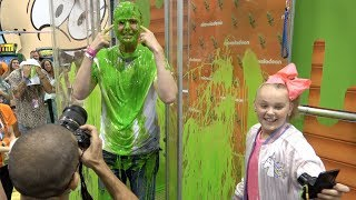 SLIMED by JOJO SIWA!?!