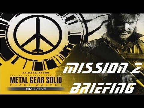 Metal Gear Solid: Peace Walker HD - Walkthrough - Part 3 - Mother Base Mission Briefing