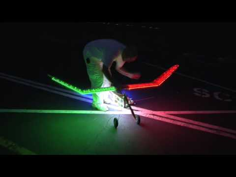 RC Night flyer airplane