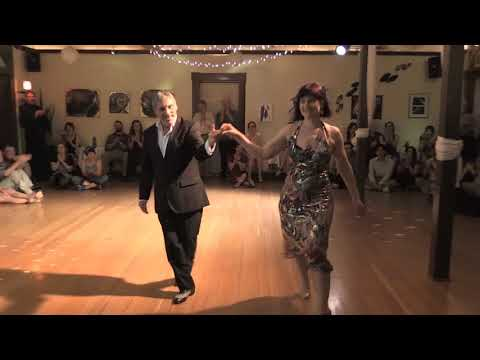 Jose Garofalo and Elizabeth Wartluft Argentine Tango improvisation