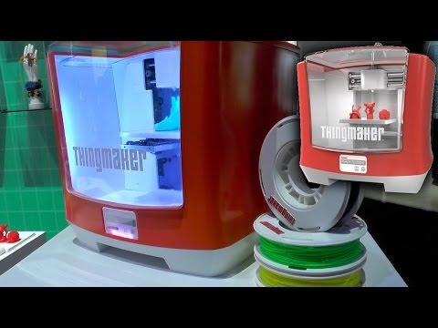mattel lanzo una impresora 3d para que los chicos creen sus munecos