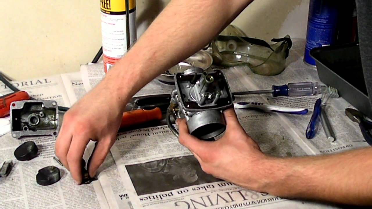 How To Clean a Snowmobile Carburetor YouTube