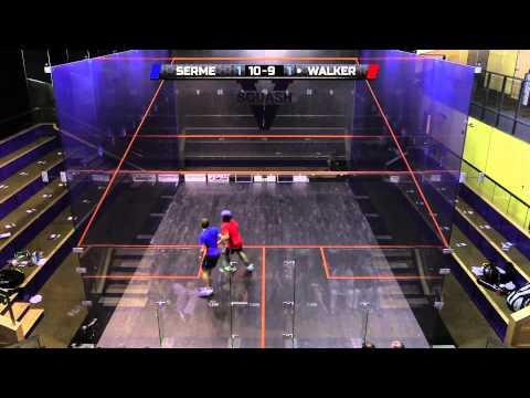 Squash : ILEX Construction Charlottesville Open'14 Final Roundup