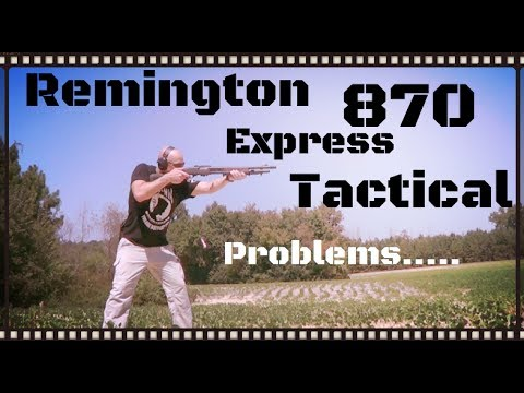 Remington 870 Express Tactical Shotgun Review (HD)