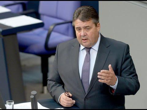 Sigmar Gabriel im Bundestag zu TTIP und CETA - 25.9.2014