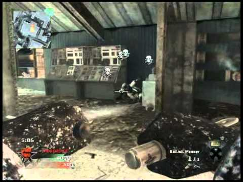 Black Ops Balist. Messer &amp; Tomahawk TDM auf WMD (Stoollee)