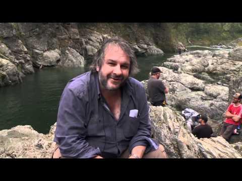 Видео как снимали Хоббита
